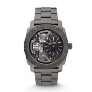 Machine Twist Stainless Steel Watch – Smoke