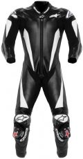 Alpinestars Race Replica Leather Suit - Black/White