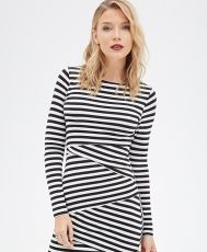 Rochie Striped Bodycon