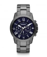 Grant Chronograph Stainless Steel Watch - Smoke